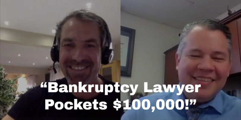 Solo Practitioner Bankruptcy Attorney Adds 100K To Bottom Line – Case Study Review